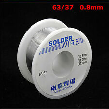 1Pc Tin Lead Line Rosin Core Flux Solder Welding Iron Wire Reel 63/37 0.8mm 100g
