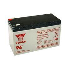 YUASA NPW36-12L Batteria ermetica al piombo 12V 7Ah equivalente Fiamm 12FGH36