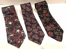 "3 ANDHURST Classic All Silk Ties (58"")"