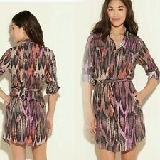 NWT GUESS 100% Silk Misha Dress size L