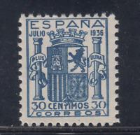 ESPAÑA (1936) NUEVO SIN FIJASELLOS MNH SPAIN - EDIFIL 801 FALSO - LOTE 4