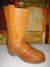 Distressed Vintage 1970s Landis cowboy boots Mens size 9