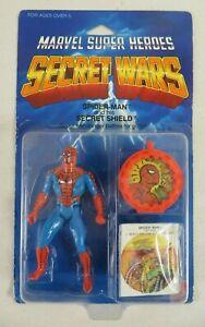 Marvel Super Heroes Secret Wars Spider-Man Action Figure 1984 Mattel NIB