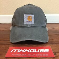 New Carhartt Buffalo Work Canvas Hat Cap Trucker box Logo camp 5-panel supreme