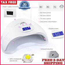 Maquina Para UñAs De Gel Led Uv Kit 48W Secado El Tratamiento Secar Lampara Luz