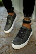 Special Design Laced - Pneumatic Leather And Orthopedics Men's Sneaker Shoes