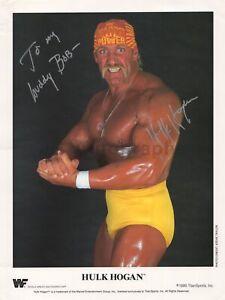 Hulk Hogan - Wrestling Icon - Signed 8x10 Photograph