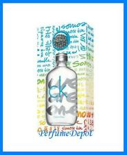 CK ONE We Are One by Calvin Klein 3.4 oz edt spray + Magnets New In Box NIB
