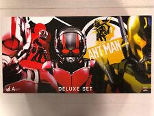 Marvel Ant-Man Deluxe Artist Mix Bobble-Heads Set Hot Toys 2015