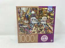 Milton Bradley Yarn Shop by Kim Jacobs 1000 piece puzzle New