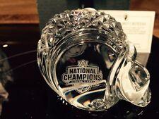 Auburn Tigers 2010 National Championship Waterford Crystal Football Helmet