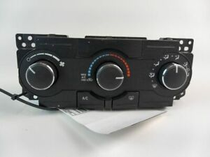 2008-2010 CHRYSLER 300 AC CLIMATE TEMPERATURE CONTROL W/O DUAL ZONE 6024