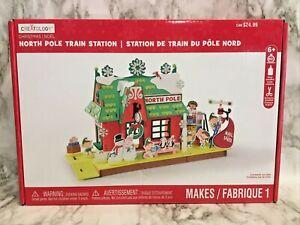 Creatology Christmas North Pole Train Station Craft Kit Brand New Sealed 230pc