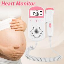 Prenatal Baby Fetal Doppler Pocket Portable Ultrasound Heart Beat Rate Monitor