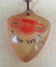 ISRAEL OLD KEYCHAIN LEYLAND TRUCK ASHDOD ISRAEL KEYCHAIN - KEY RING 60's