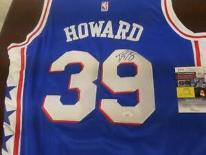 Dwight Howard Philadelphia 76ers Signed Replica NBA Blue Jersey JSA