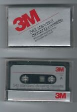 New 3M Standard Dictating Cassette Tapes  60 Mins Factory Sealed