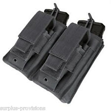 Condor - Double Kangaroo Mag Pouch - Black - Tactical Molle - #MA51