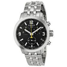 New Tissot PRC 200 Quartz Chronograph Stainless Steel Men's Watch T0554171105700