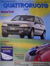 Quattroruote 529 1999 - test FIAT Punto 1.8 16 V - Nuova Ford Fiesta     [Q34]