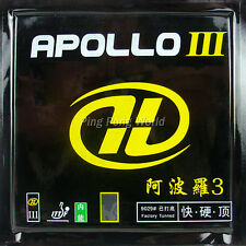 Yinhe Galaxy Apollo III Factory Tuned Pips In Table Tennis Rubber black