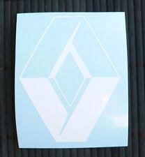 adesivo logo Renault auto car vinile vinyl sticker decal Clio Megane Laguna