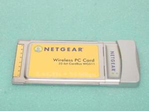 Netgear WG511 Wireless Network Adapter 2.4Ghz 32-BIT