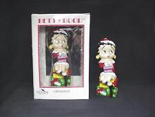 BETTY BOOP ORNAMENT SITTING ON GIFTS DESIGN