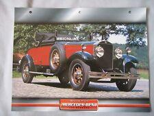 Mercedes 460 Nurburg Dream Cars Card