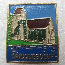 Pin's Ville de CRICQUEBOEUF maison Mer #517