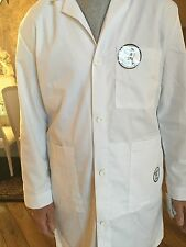 """Men's Very Fine Twill Meta 1st Quality Lab Coat Length 40"""" for 13.50 46"""