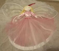 Pottery Barn Kids Pink Fairy Princess Tulle Canopy Blond ballerina Girl Rare