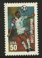 US Scott #2836, Single 1994 World Cup 50c VF MNH