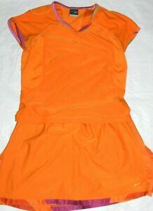 Womens tennis set skort & shirt NIKE size (small top 4/6)  (skort medium 8/10)
