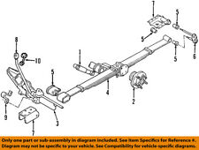 CHRYSLER OEM Rear Axle-Axle Assy 4684403AB