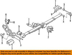 CHRYSLER OEM Rear Suspension-Spring Bracket 4743950AB