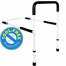 Vaunn Medical Adjustable Home Bed Rail Handle and Guard Assist Bar for Adults
