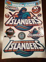 New York Islanders Fisherman Vintage Window Cling Set