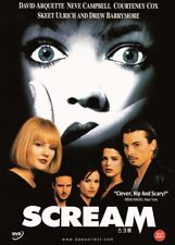 Scream,1996 (DVD,All,Sealed,New) Wes Craven, Neve Campbell, Courteney Cox