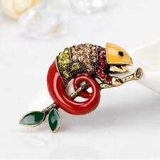 Brooch Fashion Jewelry Cloth Accessories Charm Gift Chameleon Collar Pin