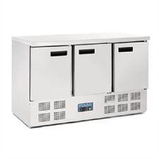 Polar 3 Door Counter Refrigerator 368 Litre 880 x 1370 x 700mm