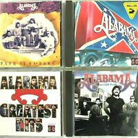 Alabama 4 CD Lot Roll On Japan Greatest Hits American Pride Pass On Down 1984-92
