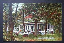 HAZELWOOD White Lake, Montague, Michigan postcard, circa 1910, Hazle Wood