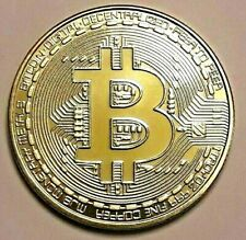 ===>> 1 Bitcoin  Gold Plated <<<===