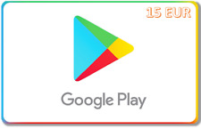 Google Play Gift Card 15 EUR (activation only on German accounts)