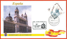2000-Fdc 1°Jour**Vatican-Hommage Pape Jean Paul II-Timbre-Madrid-Espagne-Yv.2297