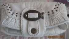 NICA London Rowan Wristlette White With Fish Accent Magnetic Button With Tags