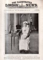 1918 London News July 20 - Nurse Princess Mary; 25th wedding Anniversary of King