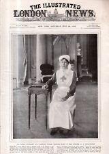 1918 London News July 20 - Nurse Princess Mary; 25th wedding Anniversary of King
