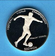 Münzen mit Fußball-Motiven aus Italien